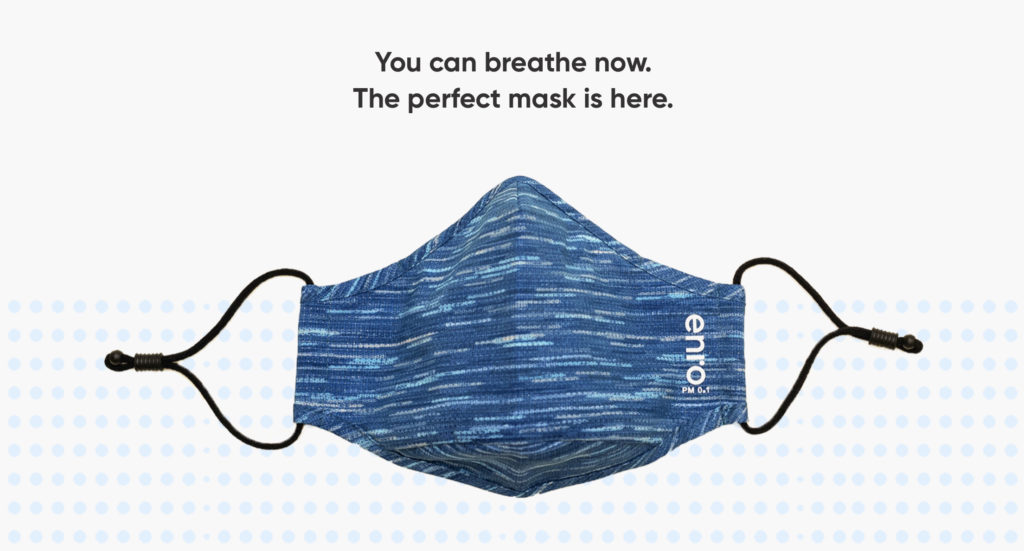Picture of Enro Mask(Enro口罩) - Active Blue